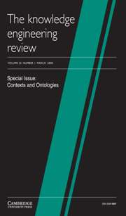 The Knowledge Engineering Review Volume 23 - Issue 1 -  Contexts and Ontologies