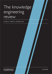 The Knowledge Engineering Review Volume 23 - Issue 4 -