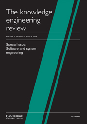 The Knowledge Engineering Review Volume 24 - Issue 1 -  Software and system engineering – part 1
