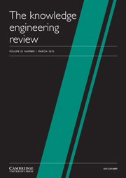 The Knowledge Engineering Review Volume 25 - Issue 1 -