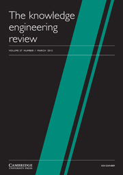 The Knowledge Engineering Review Volume 27 - Issue 1 -