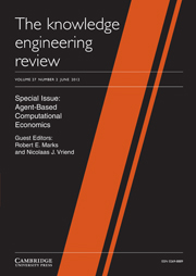 The Knowledge Engineering Review Volume 27 - Issue 2 -  Agent-Based Computational Economics