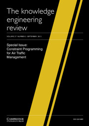 The Knowledge Engineering Review Volume 27 - Issue 3 -  Constraint Programming for Air Traffic Management