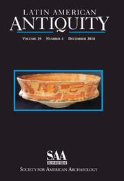Latin American Antiquity Volume 29 - Issue 4 -