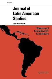 Journal of Latin American Studies Volume 38 - Issue 2 -