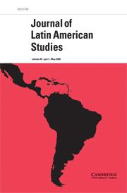 Journal of Latin American Studies Volume 40 - Issue 2 -