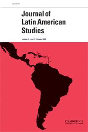 Journal of Latin American Studies Volume 41 - Issue 1 -