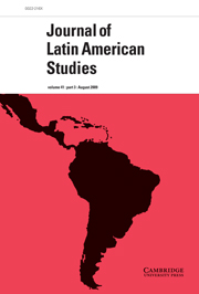 Journal of Latin American Studies Volume 41 - Issue 3 -