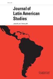 Journal of Latin American Studies Volume 49 - Issue 1 -