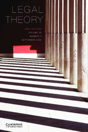 Legal Theory Volume 26 - Issue 3 -