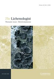 The Lichenologist Volume 42 - Issue 2 -