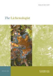 The Lichenologist Volume 49 - Issue 3 -