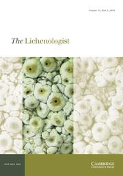 The Lichenologist Volume 51 - Issue 4 -