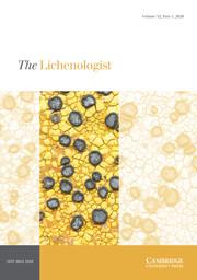 The Lichenologist Volume 52 - Issue 1 -