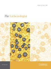 The Lichenologist Volume 52 - Issue 5 -