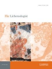 The Lichenologist Volume 53 - Issue 1 -