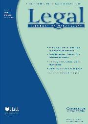 Legal Information Management Volume 6 - Issue 1 -