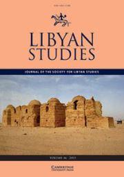Libyan Studies Volume 46 - Issue  -
