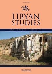 Libyan Studies Volume 49 - Issue  -