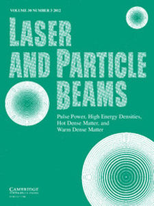 Laser and Particle Beams Volume 30 - Issue 3 -