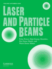 Laser and Particle Beams Volume 36 - Issue 4 -