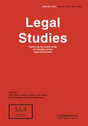 Legal Studies Volume 41 - Issue 1 -