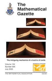 The Mathematical Gazette