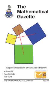 The Mathematical Gazette Volume 99 - Issue 545 -