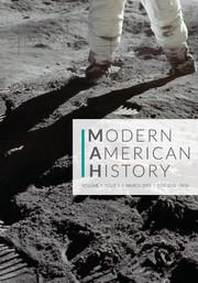 Modern American History Volume 1 - Issue 1 -