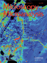 Microscopy and Microanalysis Volume 15 - Issue 3 -