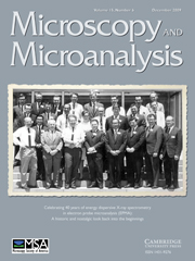 Microscopy and Microanalysis Volume 15 - Issue 6 -