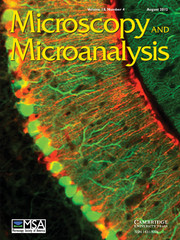 Microscopy and Microanalysis Volume 18 - Issue 4 -