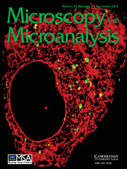 Microscopy and Microanalysis Volume 22 - Issue 6 -