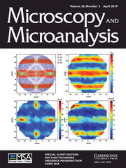 Microscopy and Microanalysis Volume 25 - Special Issue2 -  Atom Probe Tomography and Microscopy APT&M 2018