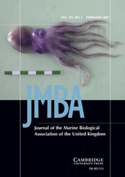 Journal of the Marine Biological Association of the United Kingdom Volume 101 - Issue 1 -