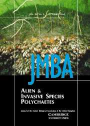 Journal of the Marine Biological Association of the United Kingdom Volume 84 - Issue 5 -