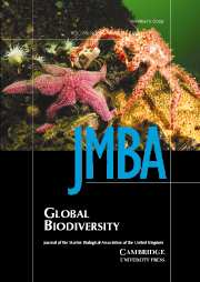 Journal of the Marine Biological Association of the United Kingdom Volume 85 - Issue 4 -