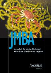 Journal of the Marine Biological Association of the United Kingdom Volume 87 - Issue 2 -