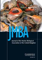 Journal of the Marine Biological Association of the United Kingdom Volume 89 - Issue 6 -