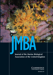 Journal of the Marine Biological Association of the United Kingdom Volume 90 - Issue 3 -