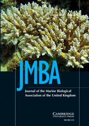 Journal of the Marine Biological Association of the United Kingdom Volume 90 - Issue 4 -