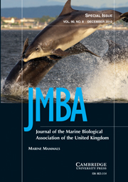 Journal of the Marine Biological Association of the United Kingdom Volume 90 - Issue 8 -  Marine Mammals