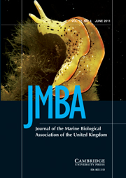 Journal of the Marine Biological Association of the United Kingdom Volume 91 - Issue 4 -