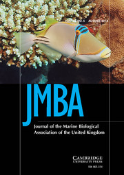 Journal of the Marine Biological Association of the United Kingdom Volume 93 - Issue 5 -
