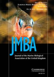 Journal of the Marine Biological Association of the United Kingdom Volume 95 - Issue 8 -
