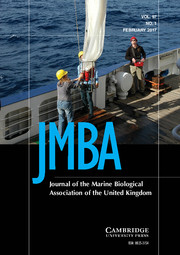 Journal of the Marine Biological Association of the United Kingdom Volume 97 - Issue 1 -