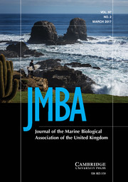 Journal of the Marine Biological Association of the United Kingdom Volume 97 - Issue 2 -