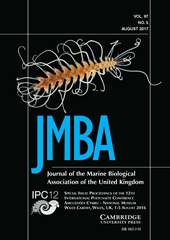 Journal of the Marine Biological Association of the United Kingdom Volume 97 - Issue 5 -  Proceedings of the 12th International Polychaete Conference Amgueddfa Cymru - National Museum Wales Cardiff, Wales, UK, 1-5 August 2016