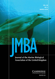 Journal of the Marine Biological Association of the United Kingdom Volume 98 - Issue 2 -