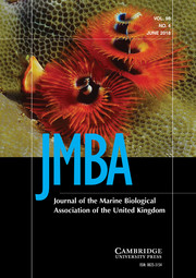 Journal of the Marine Biological Association of the United Kingdom Volume 98 - Issue 4 -